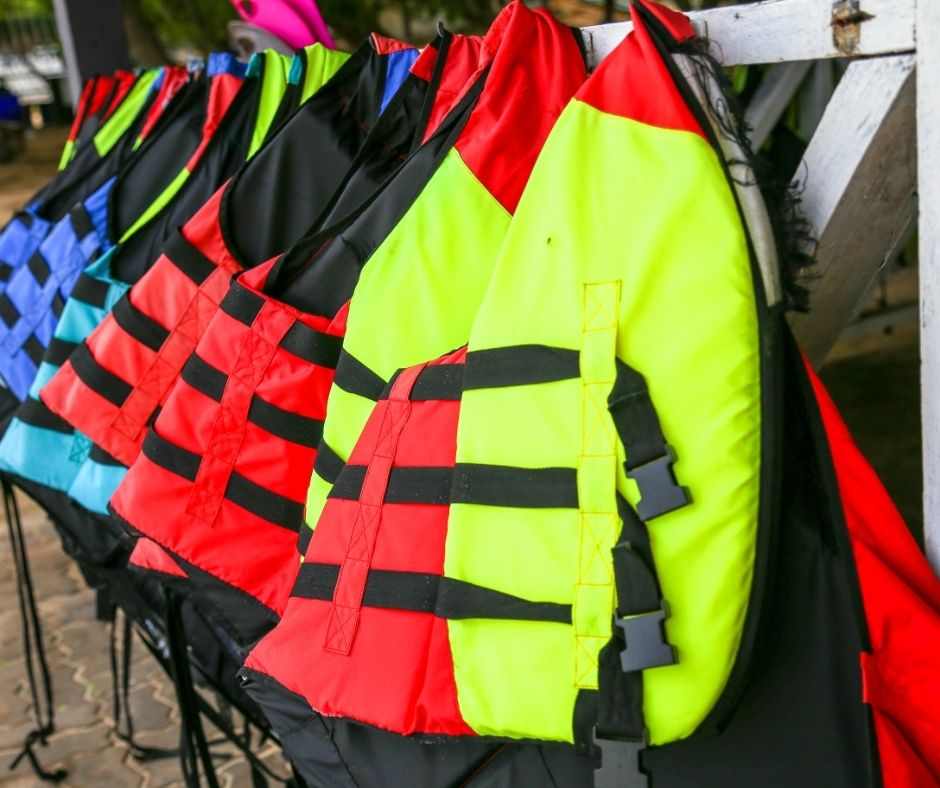 Clean lifejacket