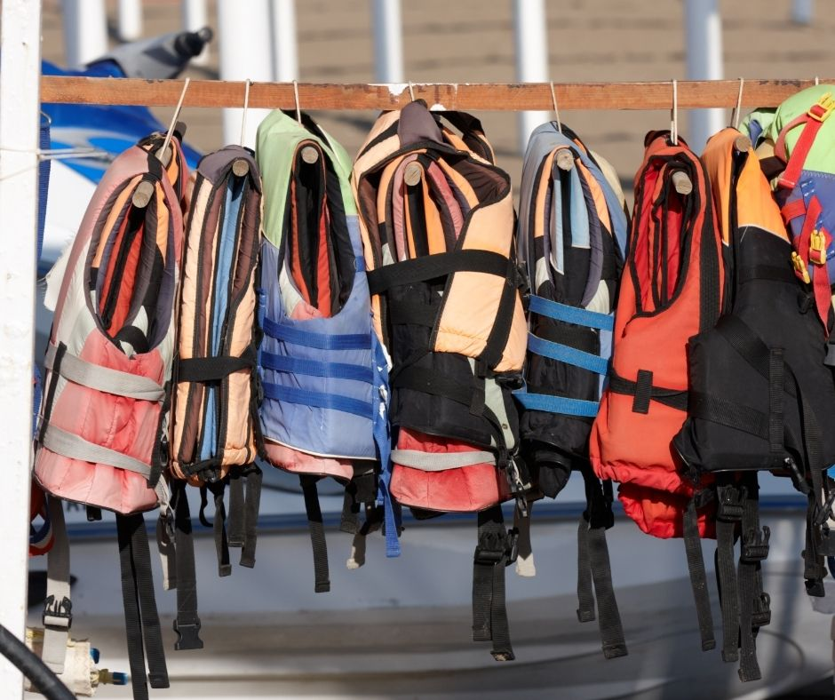 Recommended Life Jackets